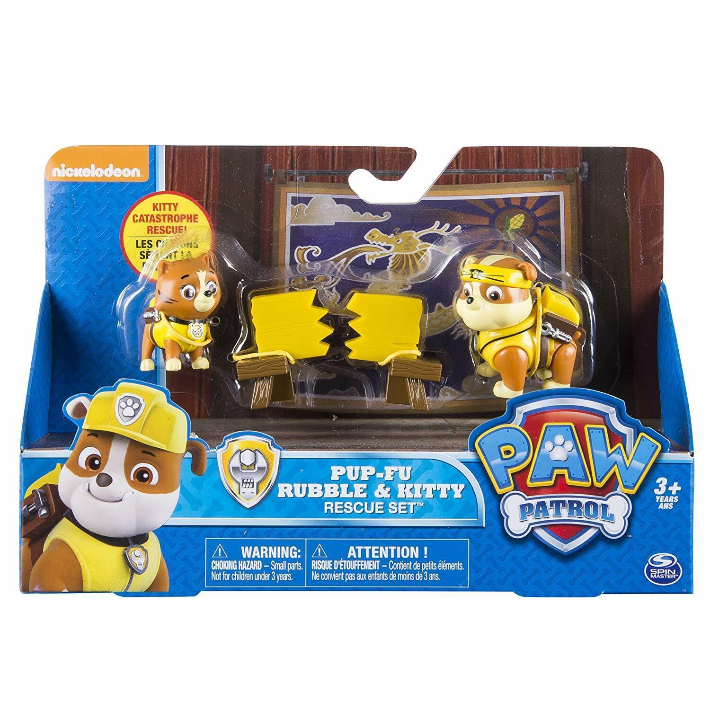 Paw Patrol-pup-fu strofino & Kitty Rescue Set
