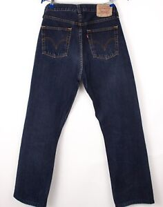 Levi's Strauss & Co Hommes 751 Slim Jeans Jambe Droite Taille W32 L30 BBZ340