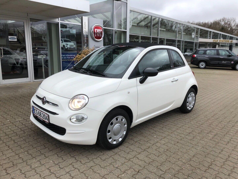 Fiat 500C 1,0 Pop 2d - 139.900 kr.