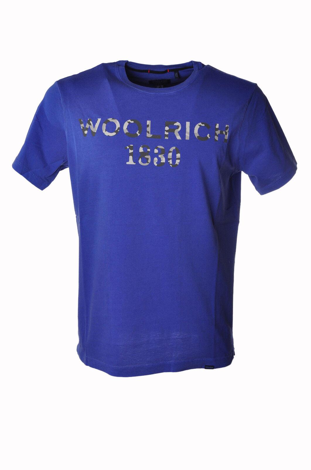 Woolrich  -  T - Männchen - Blau - 3566424A184538