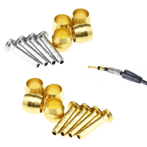 4 Set Bicycle Bike Olive And Connecting Insert For Shimano BH59//BH90 Brake Hose