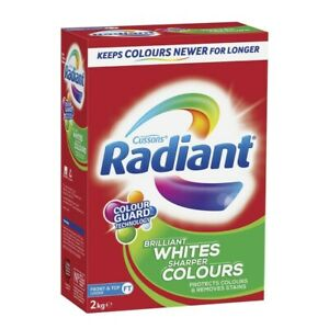Radiant Whites & Colours Top & Front Loader Laundry Powder 2kg