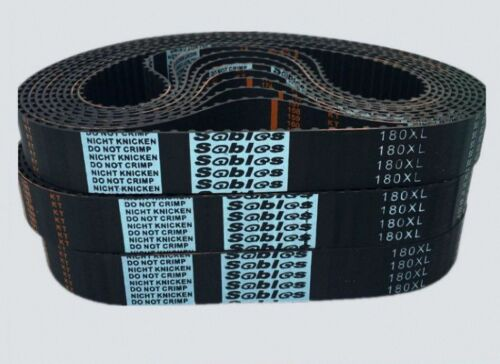 "Pitch 0.2/"" Timing Belt 60XL to 140XL Select size 5-20mm Widths XL Series"