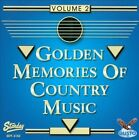 Golden Memories of Country Music, Vol. 2 by Various Artists (CD, 2012, Gusto Records)