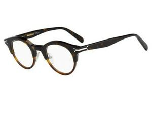 ecd3bc21be8 NEW Celine CL 41421 T6U25 45mm Dark Light Havana Optical Eyeglasses ...