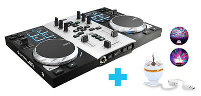 Hercules Dj Control Air Party Pack - Twin Deck Usb Controller - Authorized Dlr Speciale Kopen