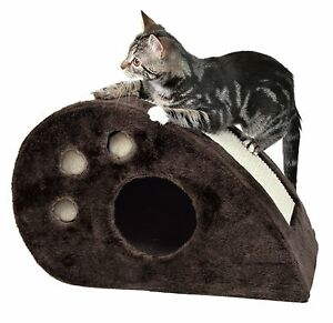Trixie-DreamWorld-Topi-Scratching-Mouse-Cat-Scratcher-Condo-Toy-Bed-Tree-Sisal