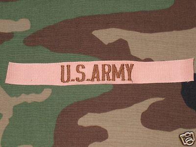 Authentique bande patro US ARMY désert Neuve