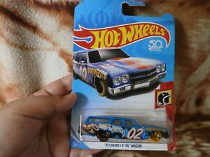 CLOSEOUT-SALE-Imported-From-USA-Hotwheels-039-70-Chevelle-SS-Wagon-1
