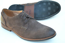 Clarks Mens Formal Welted Shoes BROYD WALK Dark Brown Suede UK 12   47 4d5d694d2dc