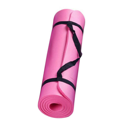 15mm thick yoga mat pad Yoga Mat Workout Exercise Gym Fitness To Lose Weight
