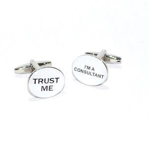 Trust me I/'m A Doctor Grabado Gemelos Dr consultor Cirujano Regalo De Cumpleaños