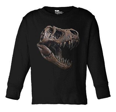 Dinosaur T-Rex Mammel Toddler Long Sleeve T-shirt