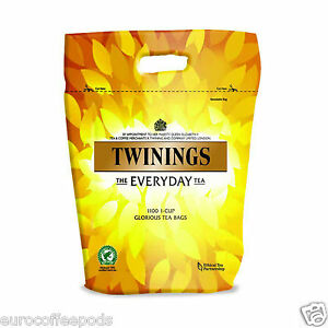 Twinings Everyday Tea Bags 1100 Teabags Damaged Bag Sold