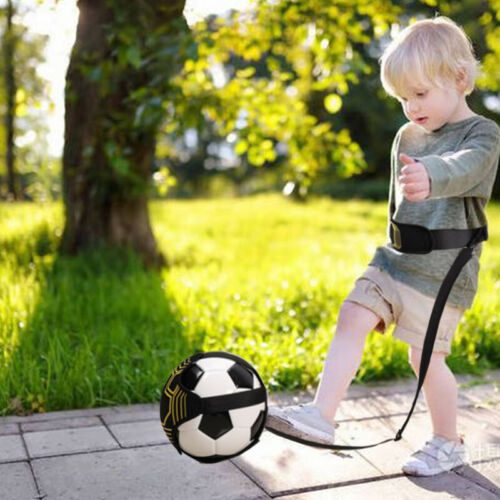 Adjustable Football Kick Trainer Soccer Ball Train Aid Equipment Practice Bel FA