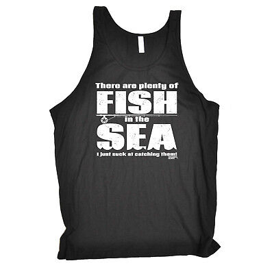 Fishing Vest Funny Novelty Singlet Jersey Top - There Are