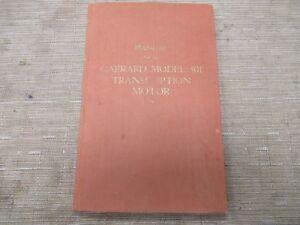 Garrard-301-Vintage-Turntable-Original-Owners-Manual