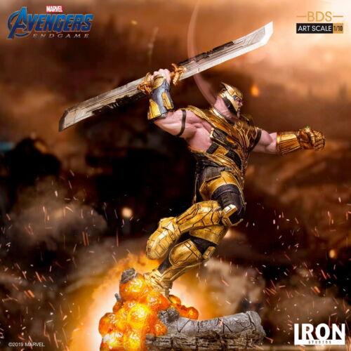 Iron Studios 1//10 Scale Thanos Statue Avengers Endgame Figure Collection Toys