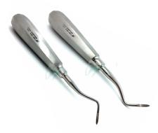 Set Of 2 Dental Heidbrink Root Tip Pick Elevators Rightleft Hygiene Instruments