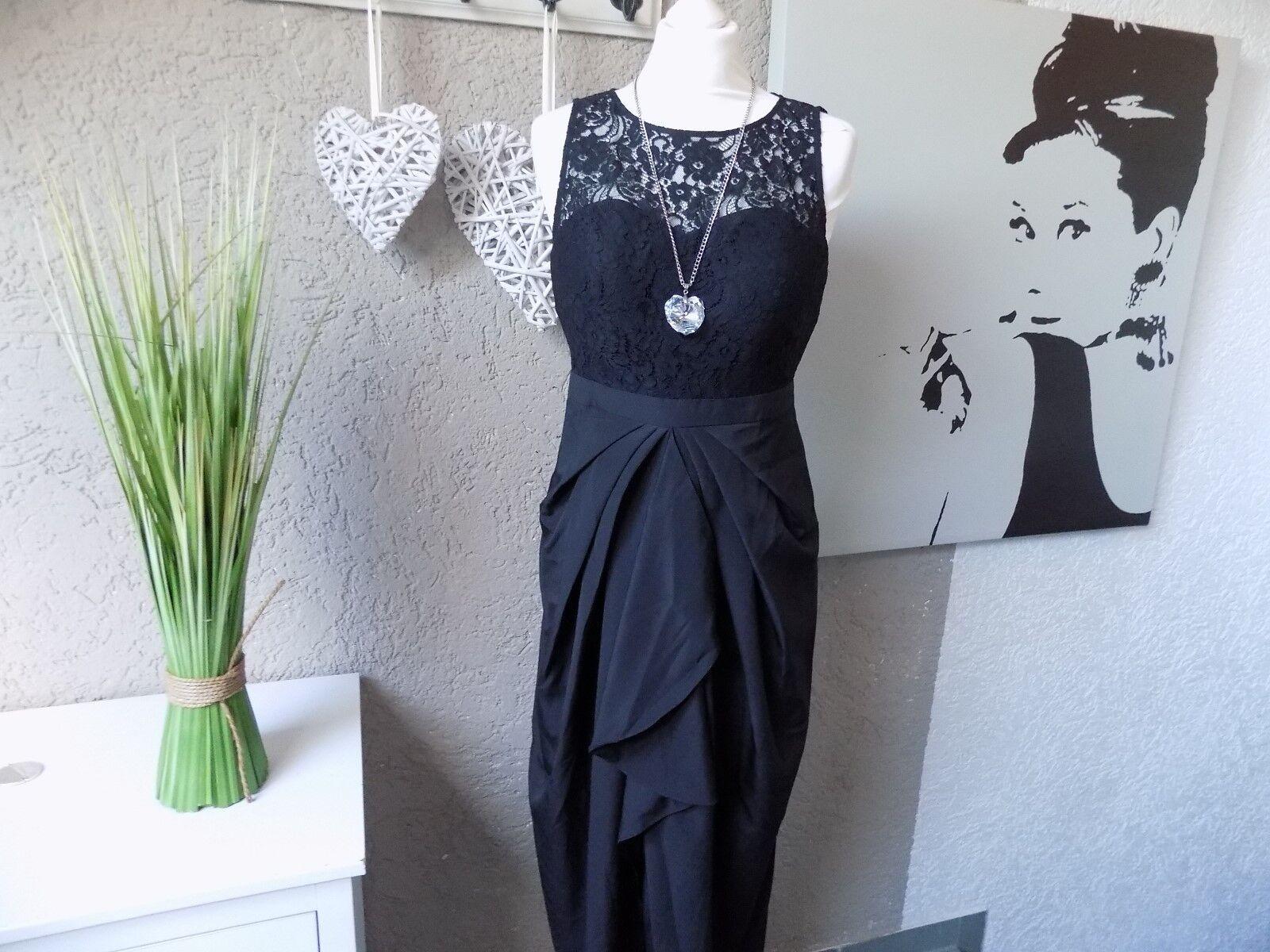 6bddf4af771 Laura Scott Abendkleid edel Spitze black 38 (42d) Gr. Kleid  nrwfgt17651-Dresses