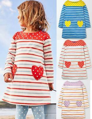 NEW RRP £16.99 Mini Boden Printed Tunic Dress BU2