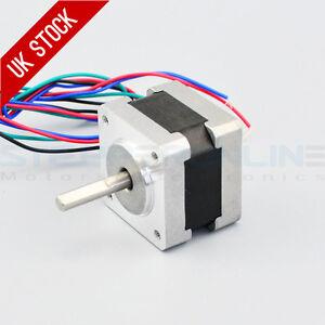 Nema 14 stepper motor steps rev 0 4a 11ncm 15 for 4 wire bipolar stepper motor