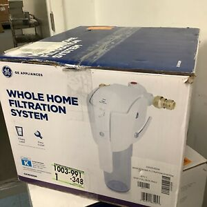 """GE GXWH50M Whole Home Water Filtration System, """"K"""" Filter Sold Separately"""