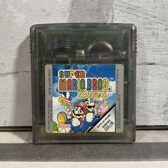 Super Mario Bros Deluxe Nintendo Game Boy Color Spiel 1999