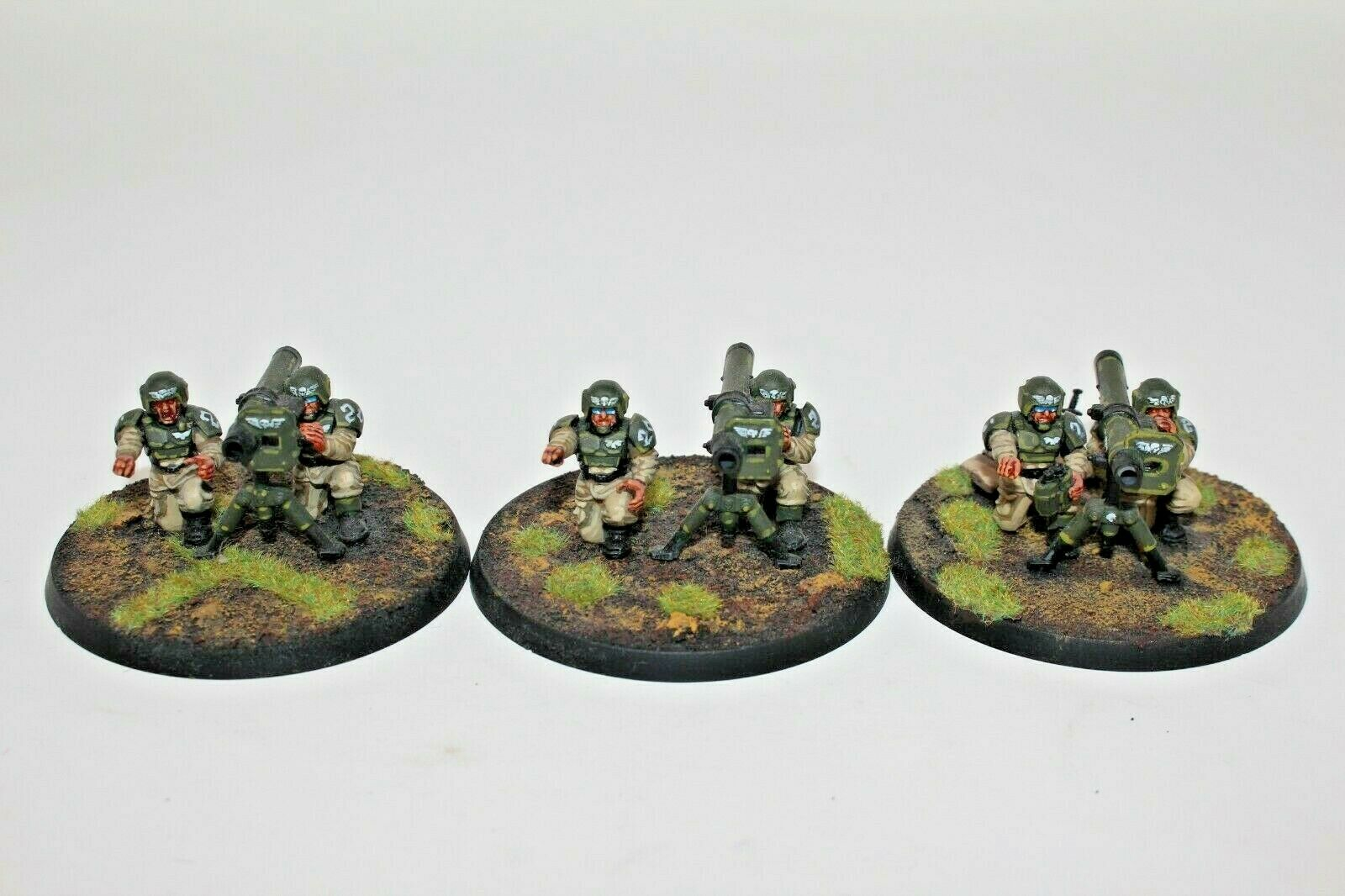 Warhammer Imperial Guard Missile Launcher Squad Well Well Well Painted - JYS84 1c9fc5