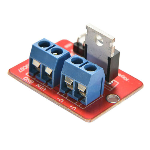 MOSFET Button IRF520 MOSFET Driver Module for Arduino ARM Raspberry ESCA T1T 20X