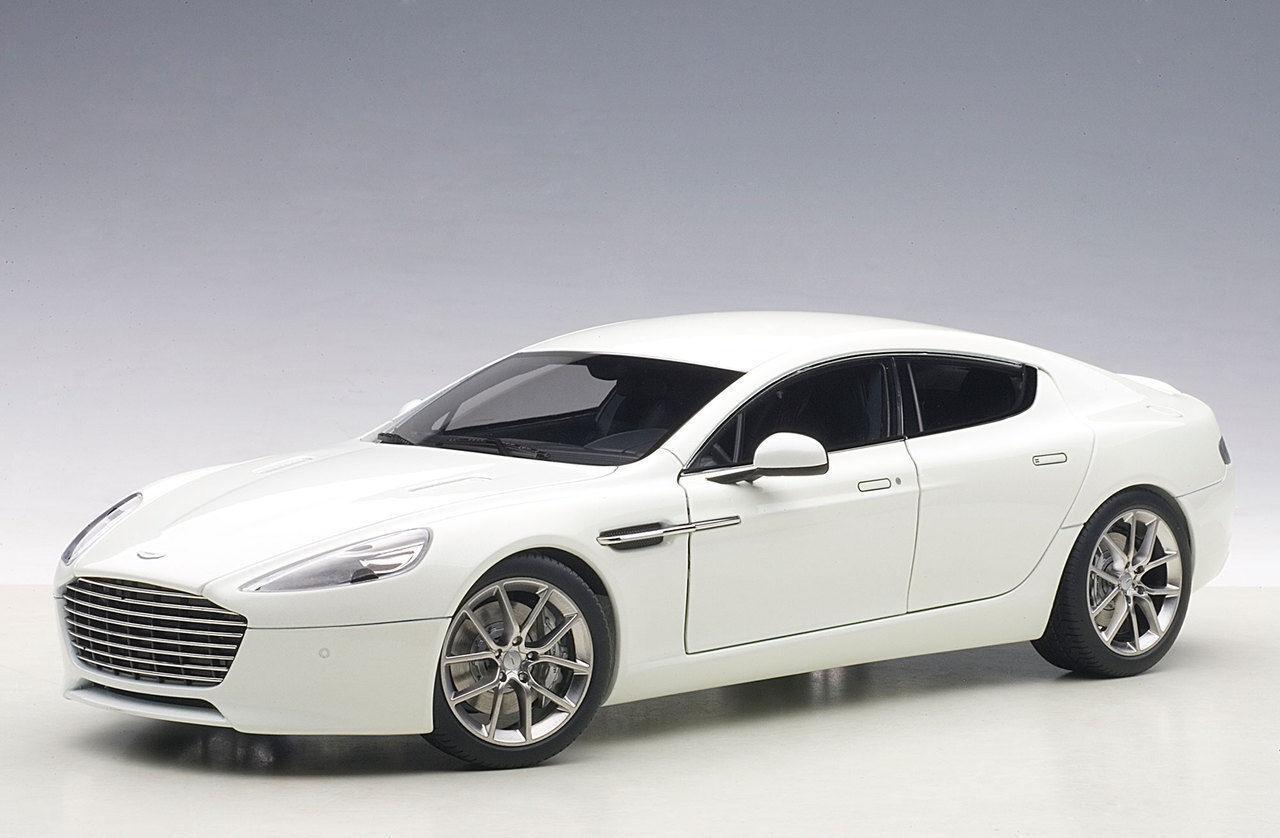 1 18 Autoart Aston Martin Rapide S 2015 (Stratus blanc)