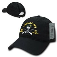 United States Us Army Special Forces Ops Green Berets Polo Baseball Cap Hat