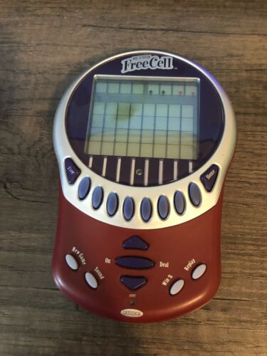 RADICA Big Screen FreeCell Handheld Electronic Game 75008 Tested