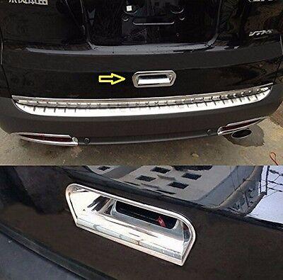 Chrome Rear Trunk Boot Handle Bowl Cover Trim Tailgate For 2012-2016 Honda CRV