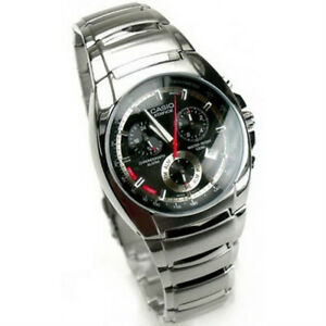 6e50ae1aae9 Image is loading Casio-Edifice-Chronograph-Alarm-100m-Watch-EF-510D-