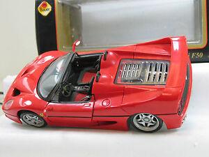 MAISTO-1-18-FERRARI-F50-Spider-Edition-B2919