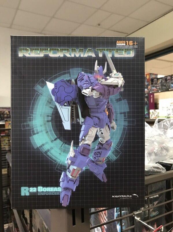 Transformers Mastermind Creations MMC R-22 BOREAS Cyclonus NEW