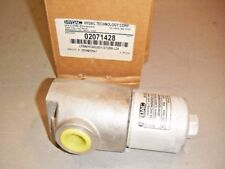 Hydac 02071428 Hydraulic Inline Filter Assembly 1500 Psi