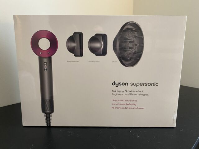 Dyson Supersonic Hair Dryer - Iron/Fuchsia- Brand New Factory Sealed