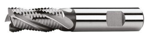 Schneide über Mitte HSS-Co8 PROFI Schaftfräser DIN 844,Typ NR mit Weldornschaft
