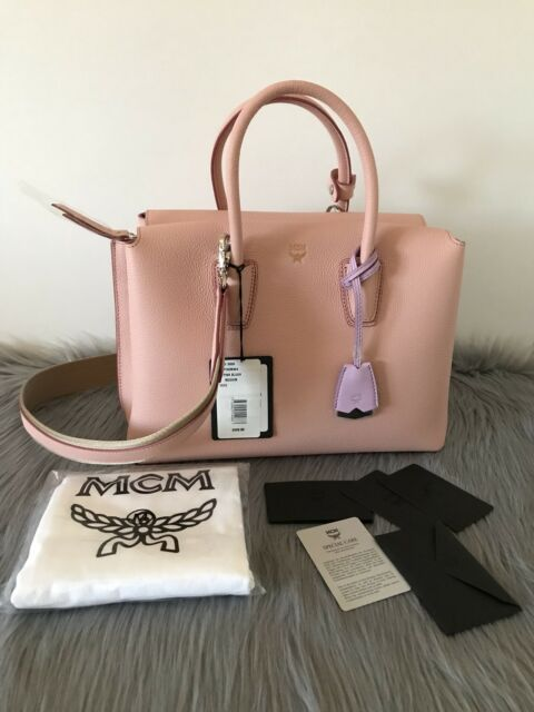6f5b24d4e MCM Medium Milla Tote (pink Leather) for sale online | eBay