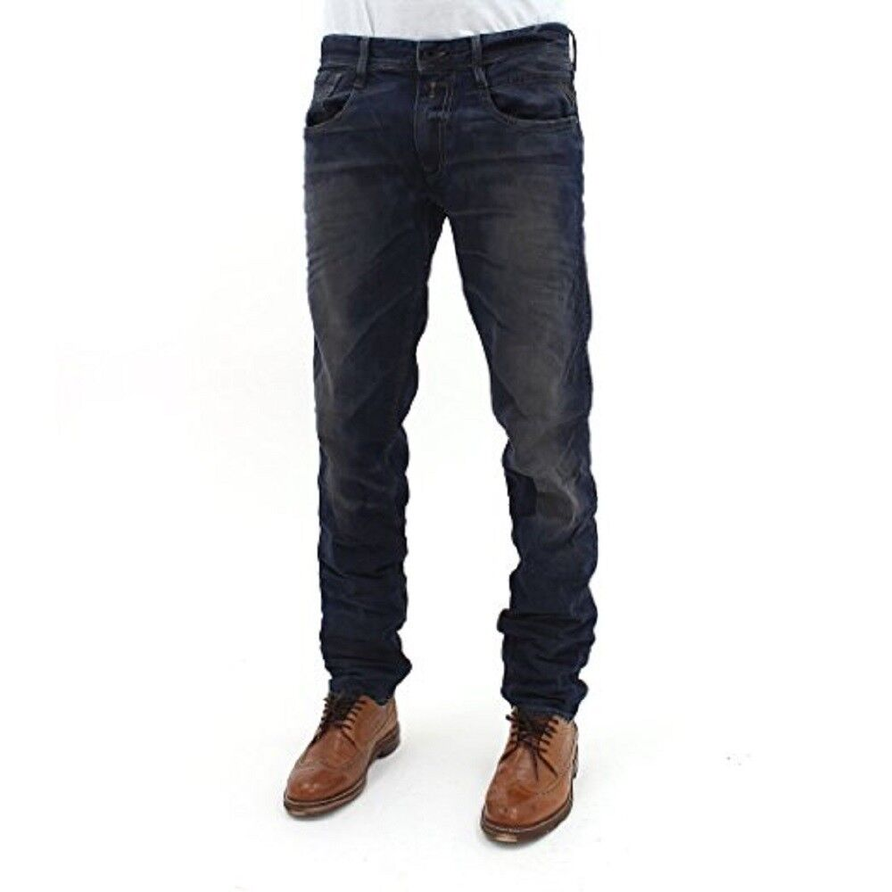 Mens Replay Jeans Anbass W30 x L32 Slim Fit New Tags Authentic