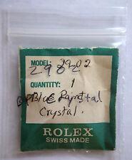 Genuine Rolex 2902 Tropic Plastic Plexi Acrylic Blue Point Watch Crystal 25-2902