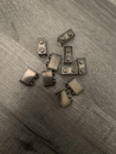 Lego 10 1x2 Brick Black Transparent Clear Part Number 3065