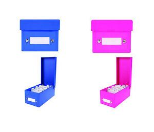 2x-Lernbox-DIN-A8-Karteikasten-800-Karteikarten-je-1x-pink-blau