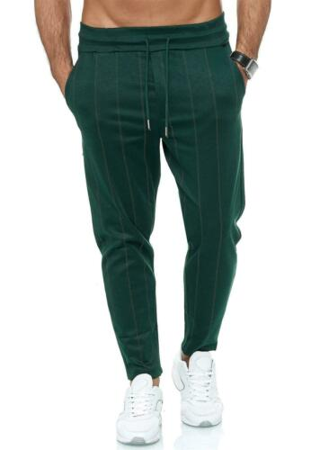 Redbridge Herren Jogginghose Jogger Hose Sweat-Pants Striped Freizeithose M4247