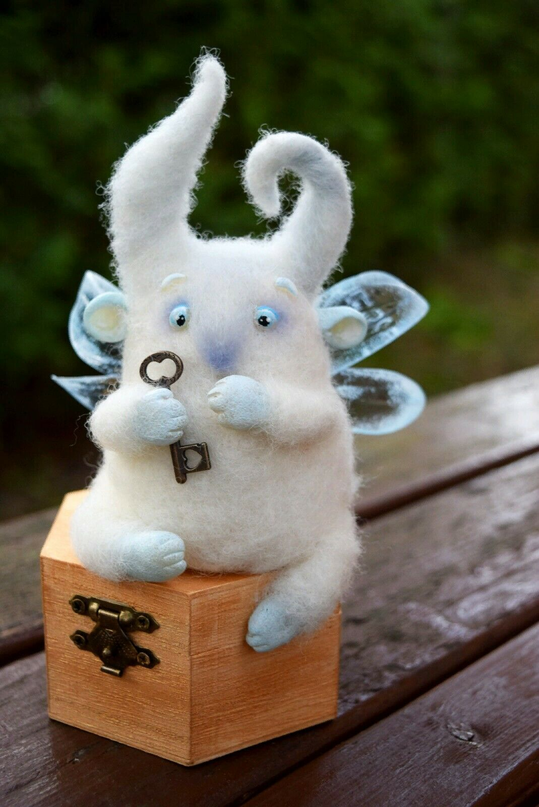 Soft toy wool, toys fantasy, present, keeper keeper of secrets