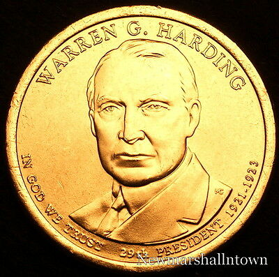 2015 US President Harry S Truman P Dollar Coin in BU Condition