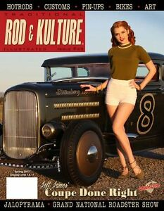 Traditional-Rod-amp-Kulture-Illustrated-49-1955-Chevy-1969-Corvette-1931-Ford