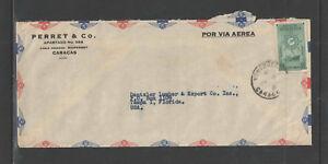 1950-PARRET-amp-CO-CARACAS-VENEZUELA-ADVERTISING-COVER-C262